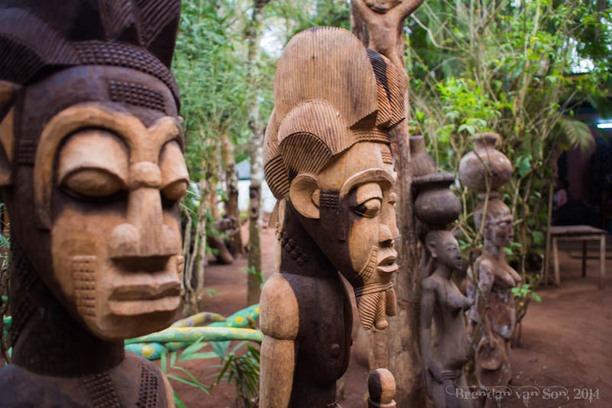 Voyage à pied : Bénin : Anciens royaumes et chefferies
