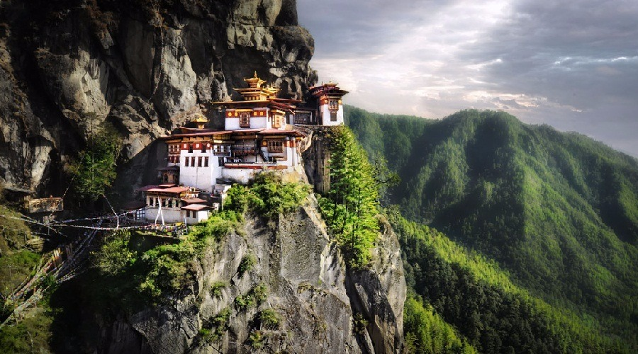 Voyage à pied : Bhoutan express