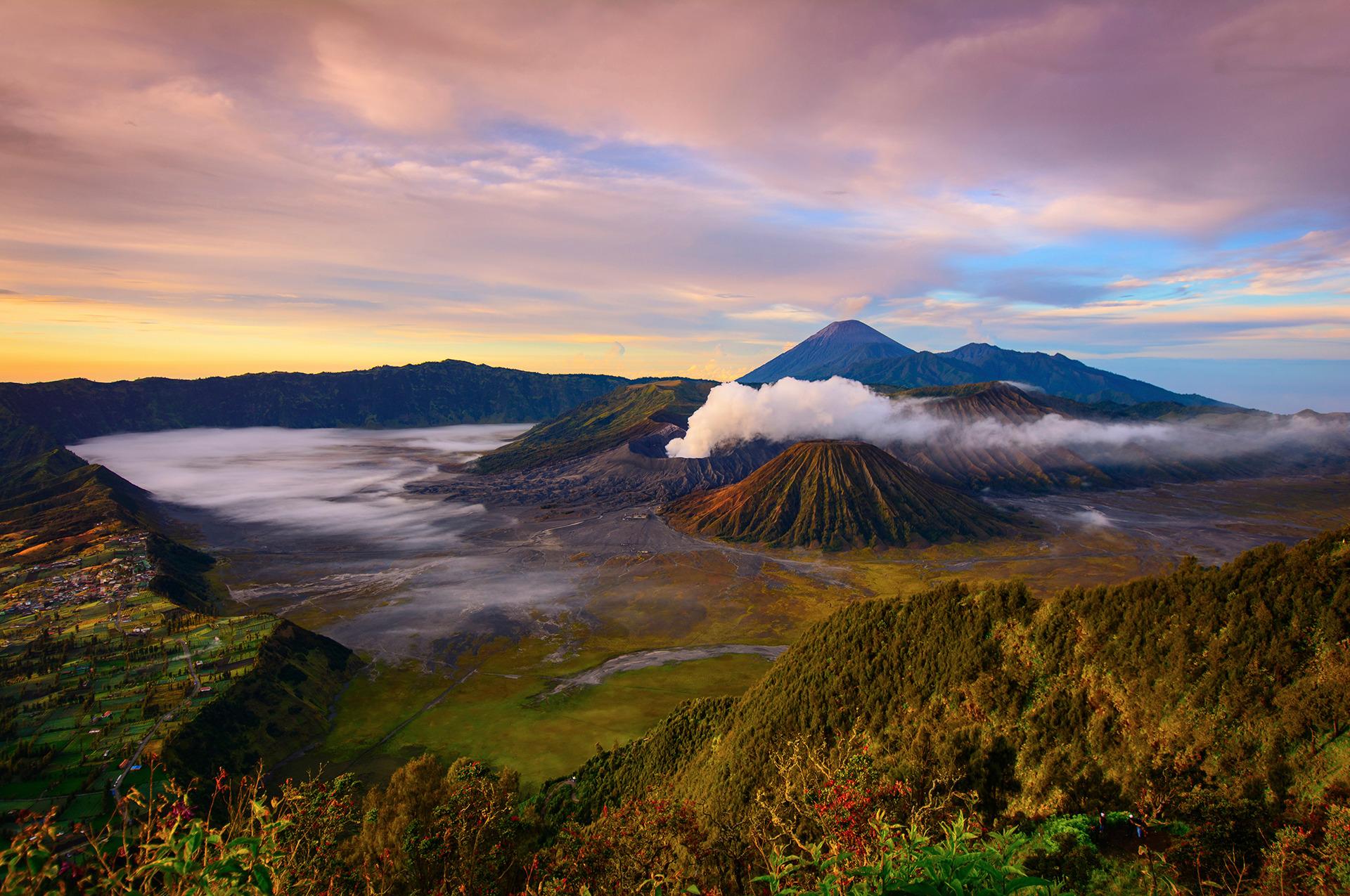 Voyage à pied : Java-est: volcan bromo & kawah ijen