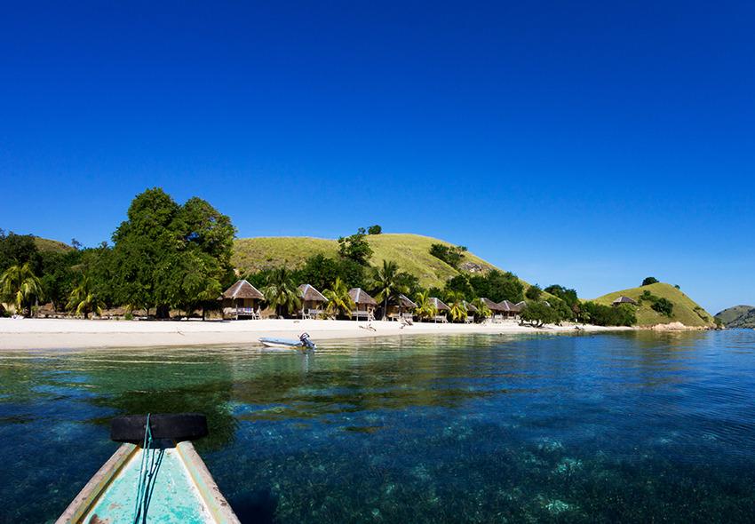 Voyage à pied : Komodo: extension île de seraya