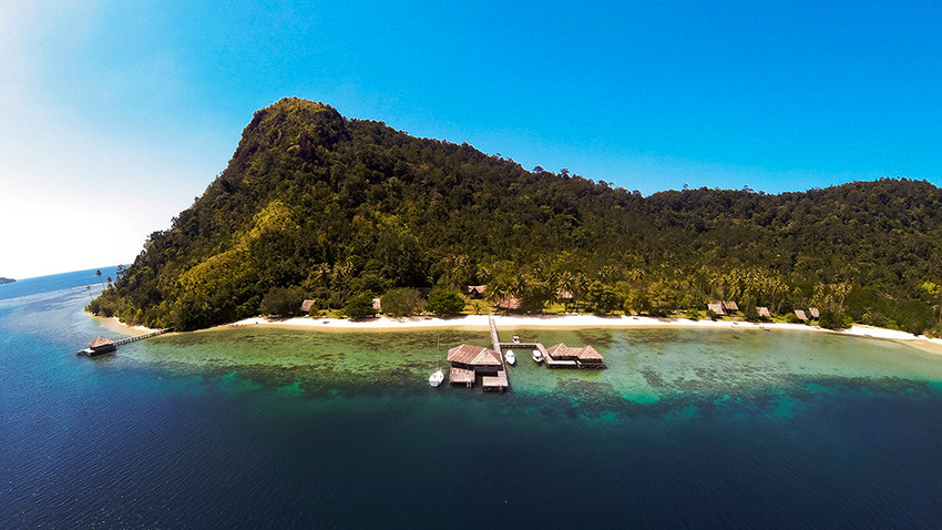 Voyage à pied : Sumatra-ouest: extension sur l\'île de cubadak