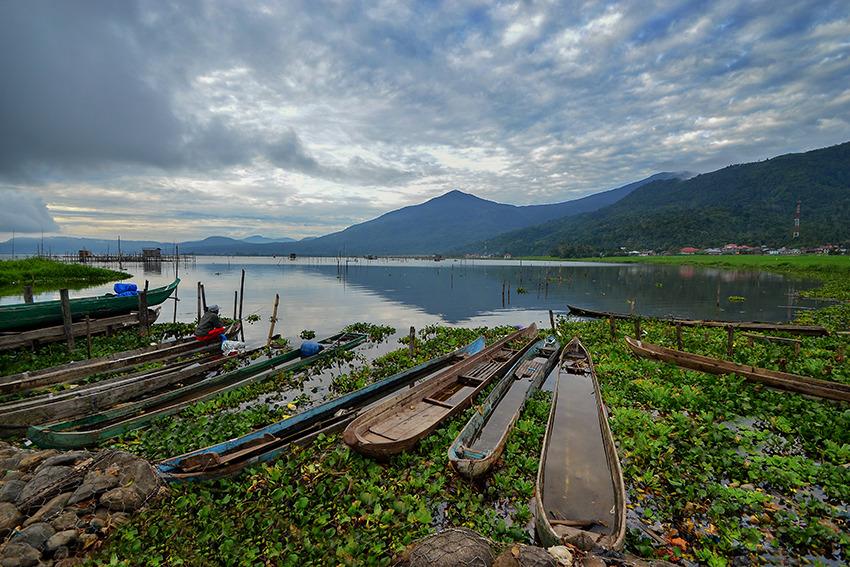 Voyage à pied : Sumatra: la randonnée des 5 lacs