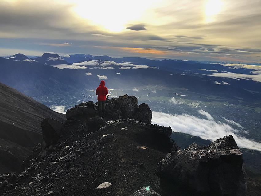 Voyage à pied : Sumatra: ascension du volcan kerinci