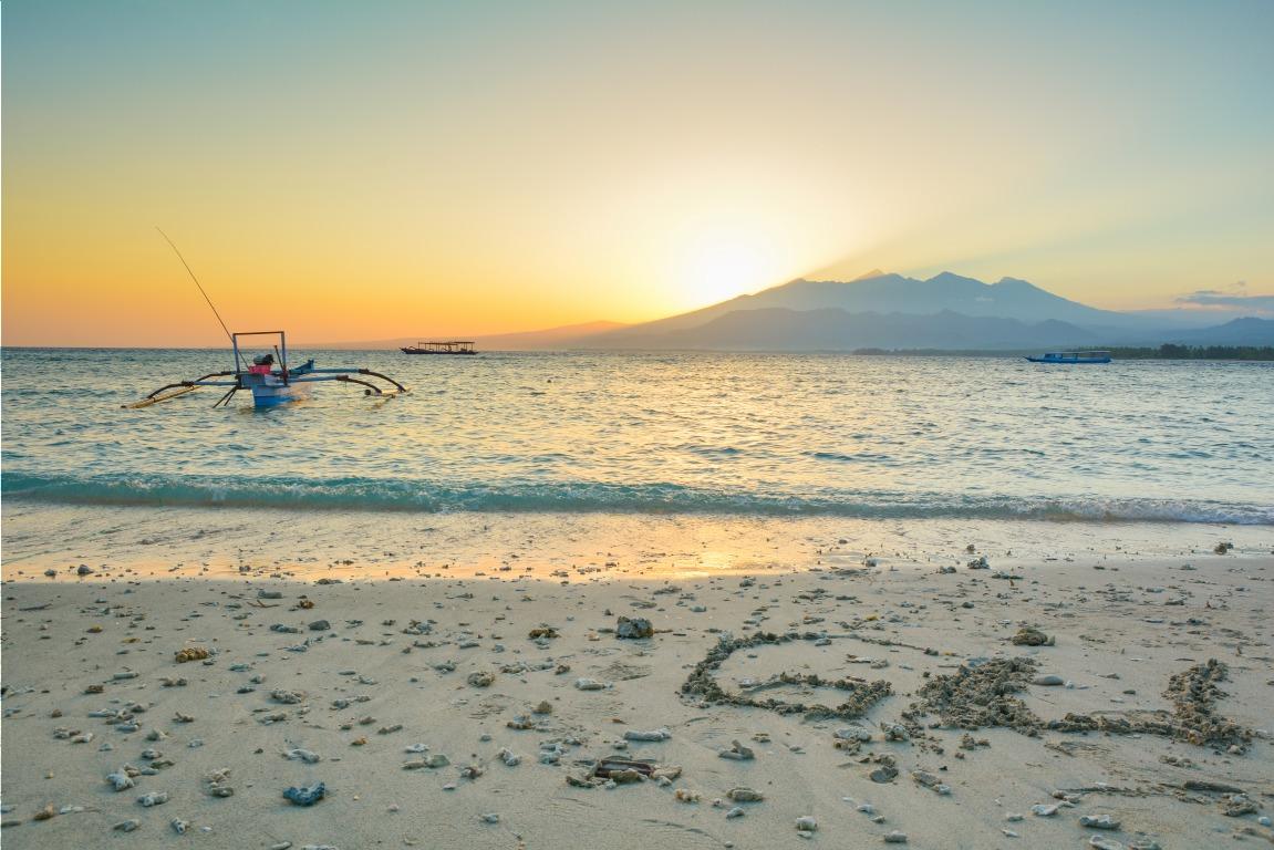 Voyage à pied : Lombok: extension gili air