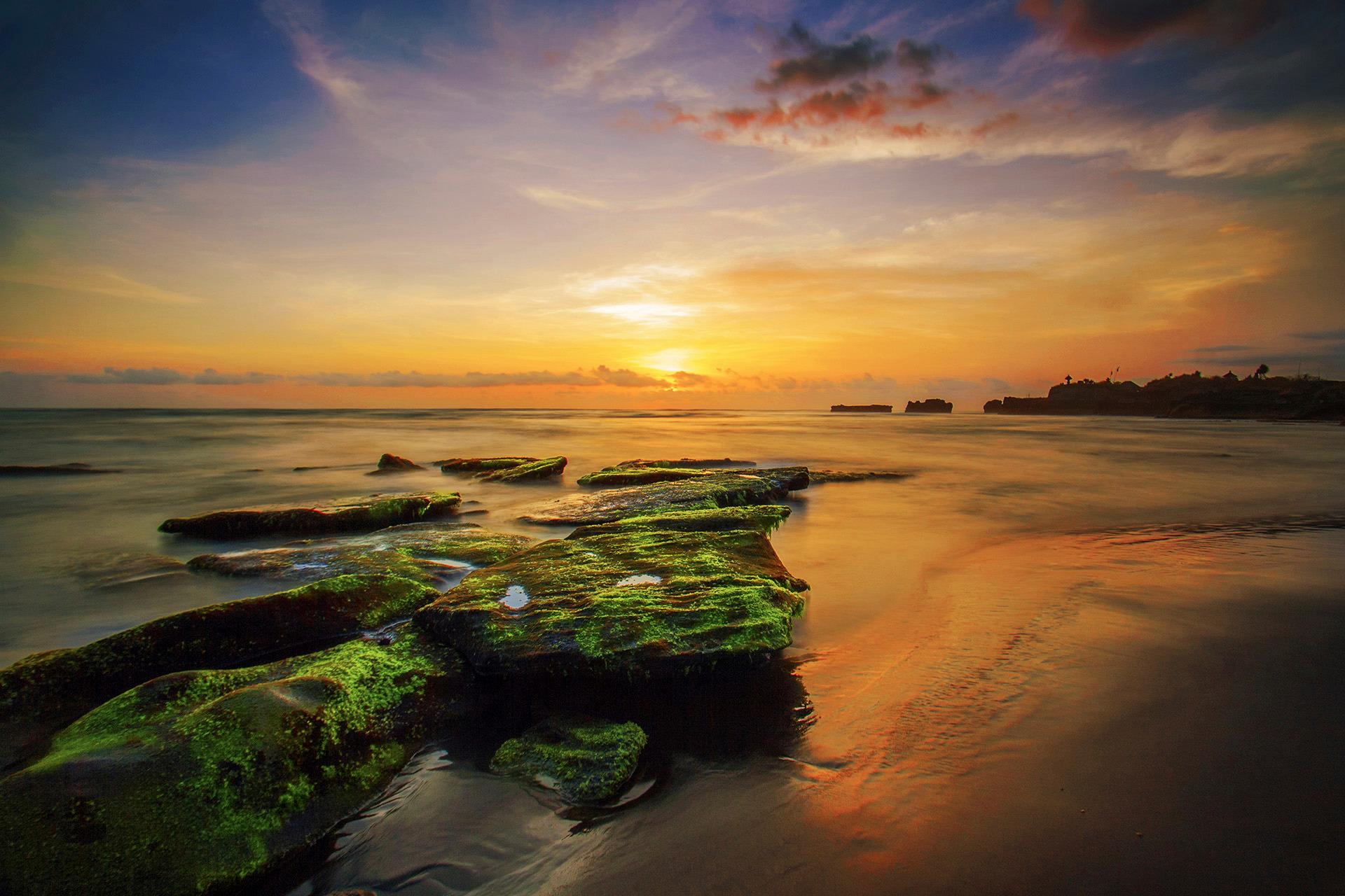 Voyage à pied : Lune de miel bali et les îles gili
