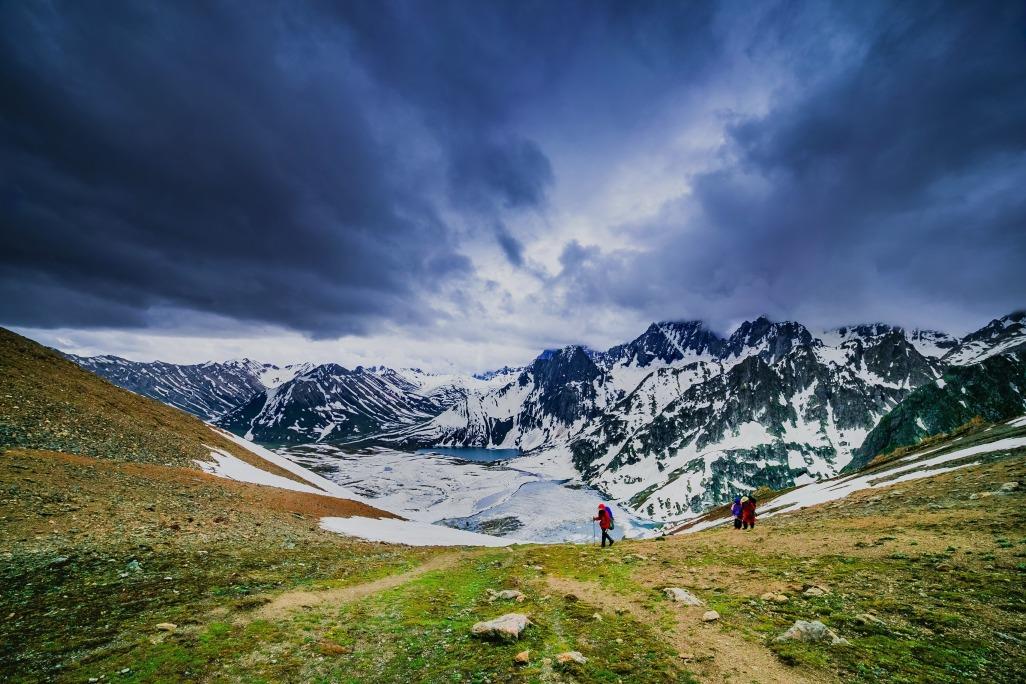 Voyage à pied : Randonnée dans la vallée de shyam