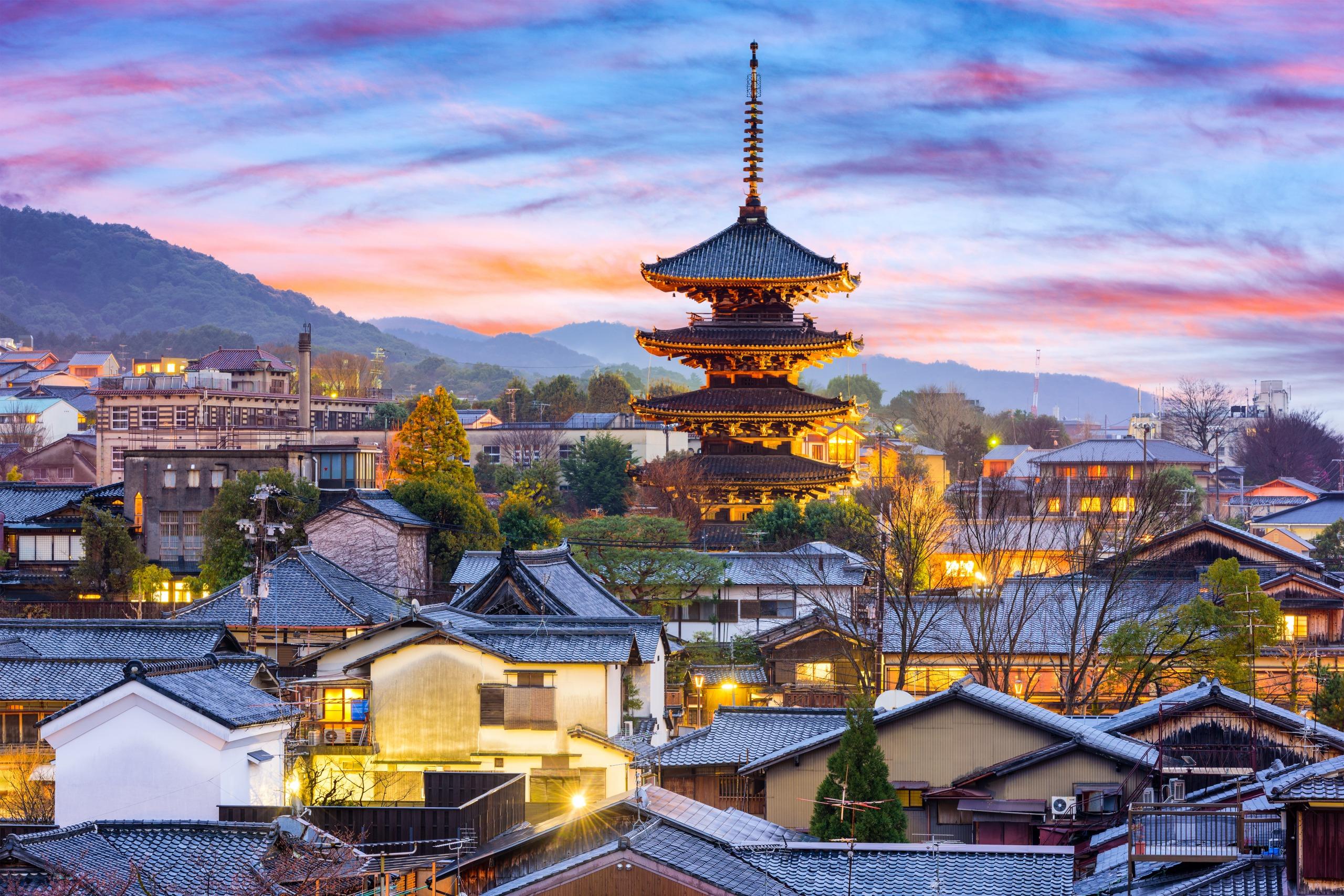 Voyage à pied : Le japon en quelques villes