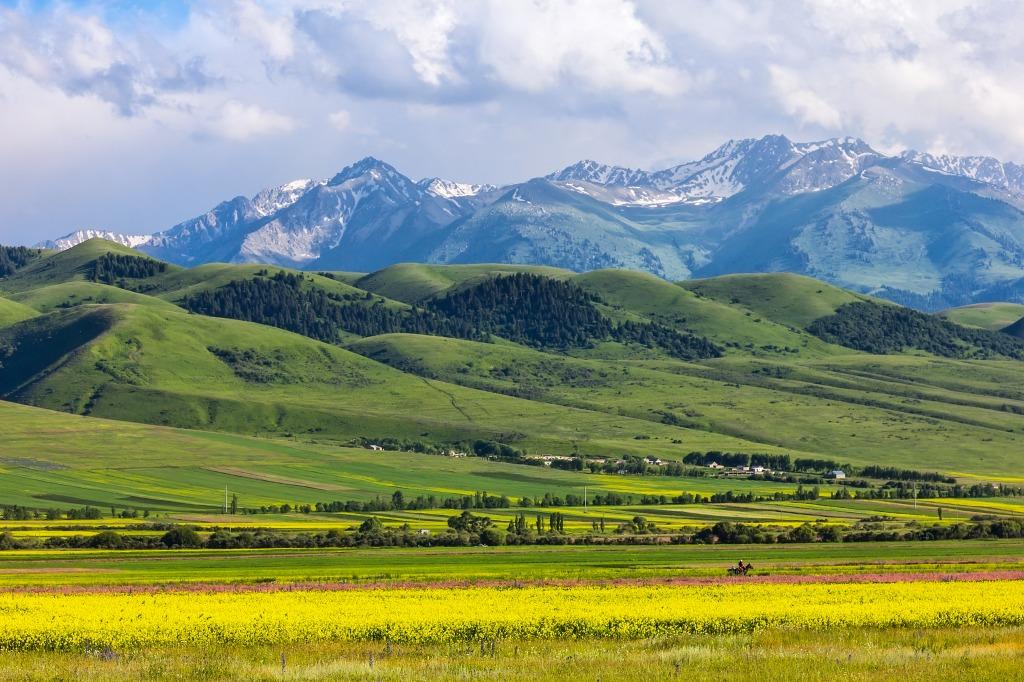 Voyage à pied : Merveilles de kirghizie