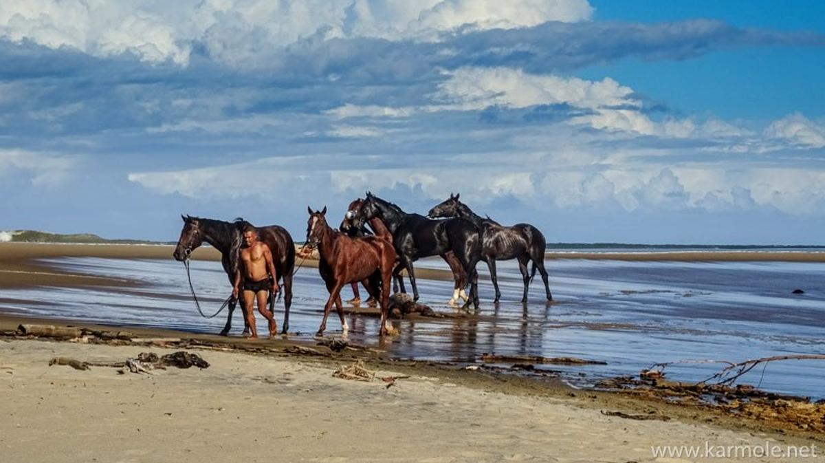 Voyage à pied : Randonnée équestre sur la côte est de madagascar