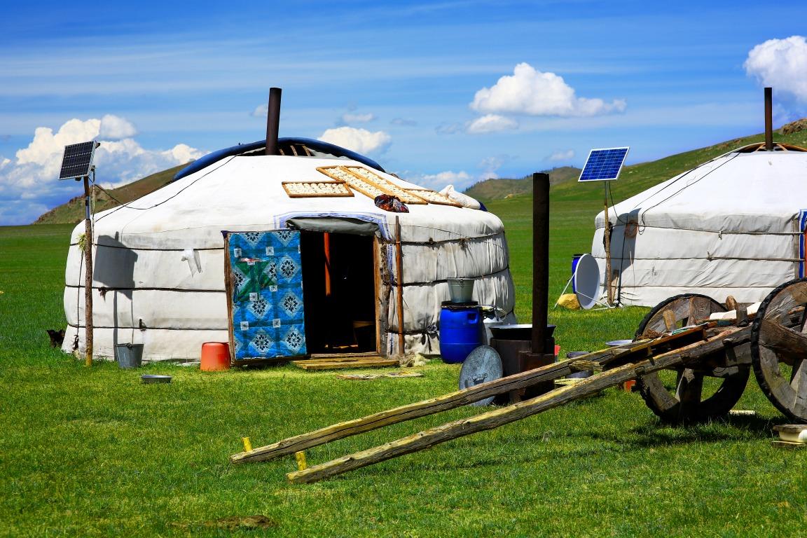 Voyage à pied : Séjour nomade dans le terelj