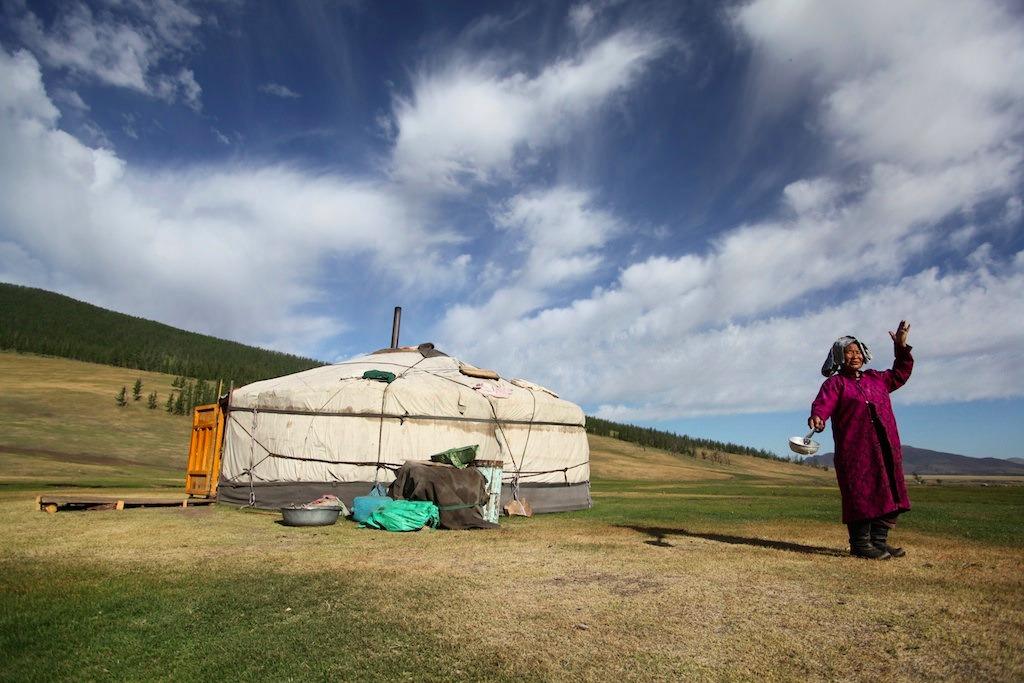Voyage à pied : La mongolie par le bus