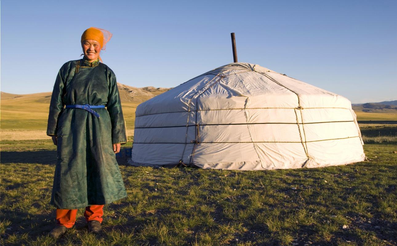 Voyage à pied : Mongolie express