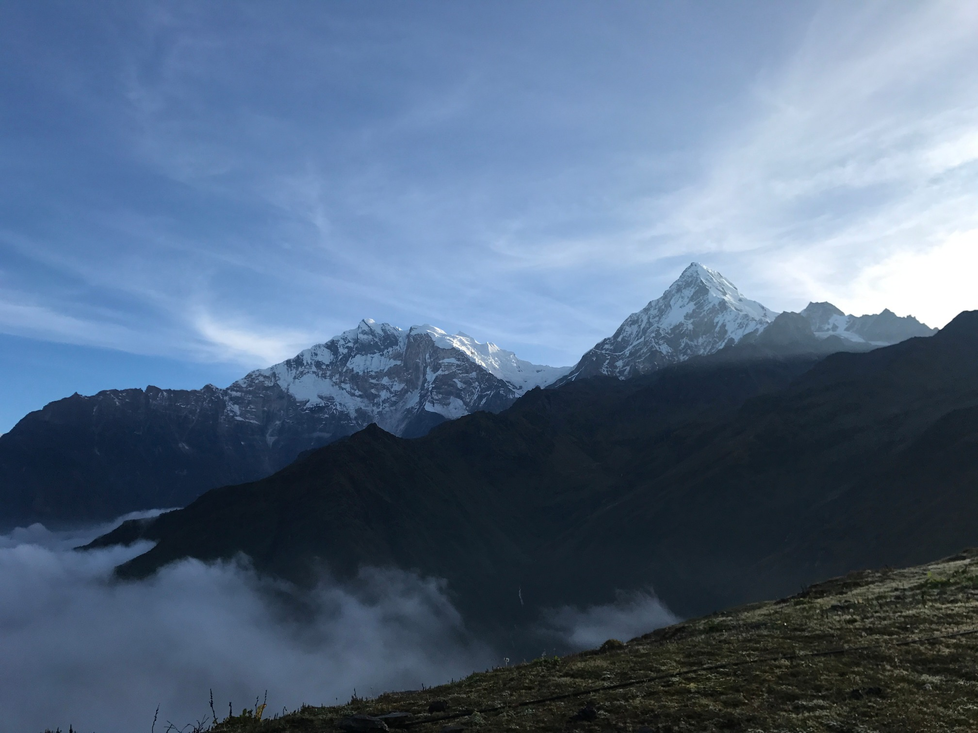 Image Annapurna authentique: le trek de kopra