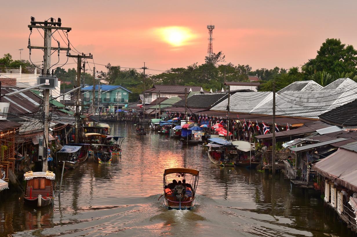 Voyage à pied : Thaïlande express